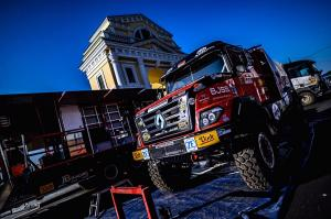 The Silk Way Rally started with fifth place
