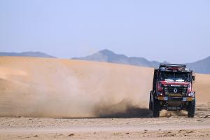 Van den Brink's differential failed in the dunes