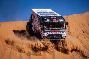 All trucks are at the Dakar finish for the first time