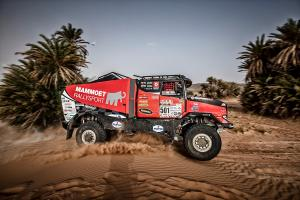Truck from Czech dominate in Morocco Desert Challenge
