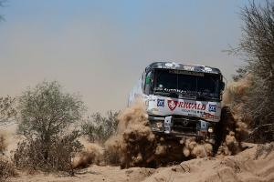 Penultimate den at Dakar and Huzink is eighth!