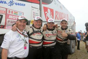 Gerd Huzink finished seventh in 40th edition of Dakar