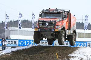Fans in Sosnová enjoyed grand Dakar meeting