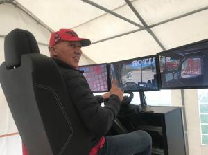 Introduction of a simulator, tests in Almería and then Morocco