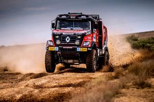 The Silk Way Rally started with problems
