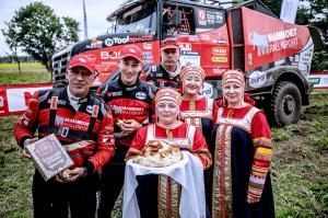 Van den Brink wins the final stage of the Silk Way Rally